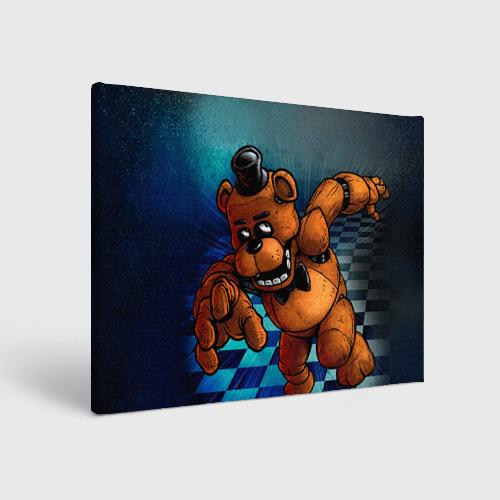 Холст прямоугольный Five Nights At Freddy's