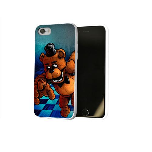 Чехол для Apple iPhone 8 силиконовый глянцевый  Фото 02, Five Nights At Freddy's