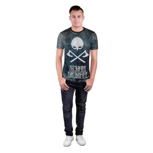Мужская футболка 3D спортивная Варяги Фото 01