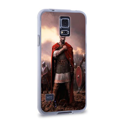 Чехол для Samsung Galaxy S5 силиконовый  Фото 02, Князь Святослав Игоревич