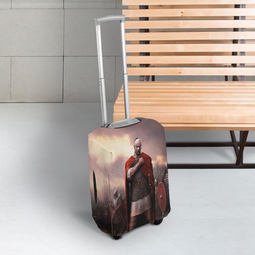 Чехол для чемодана 3D Князь Святослав Игоревич Фото 01