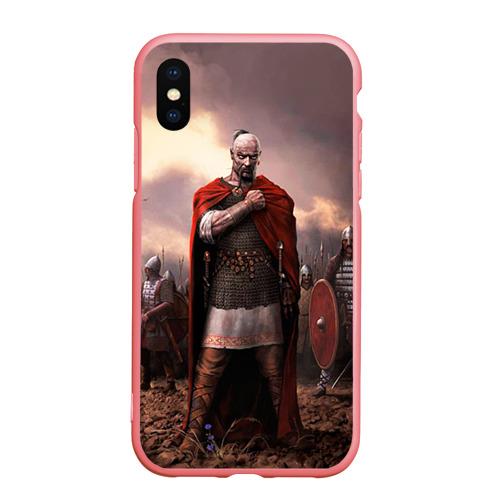 Чехол для iPhone XS Max матовый Князь Святослав Игоревич Фото 01