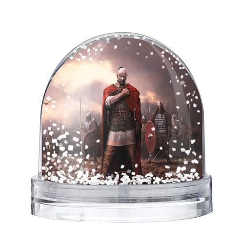 Водяной шар со снегом Князь Святослав Игоревич