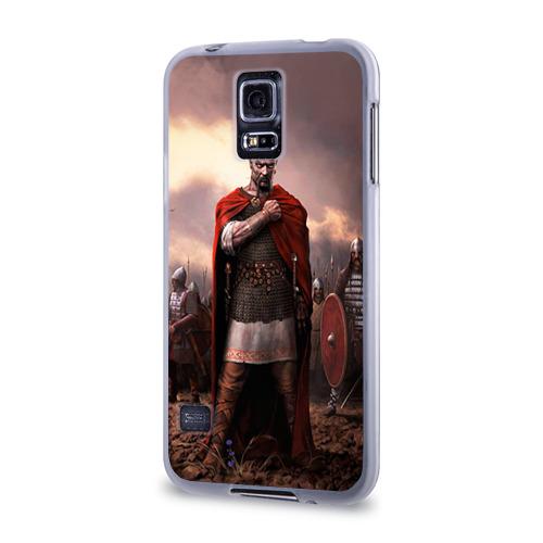 Чехол для Samsung Galaxy S5 силиконовый  Фото 03, Князь Святослав Игоревич