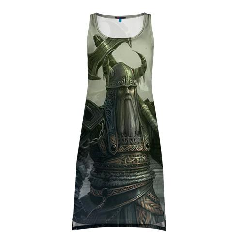 Платье-майка 3D Варвар с лабрисом