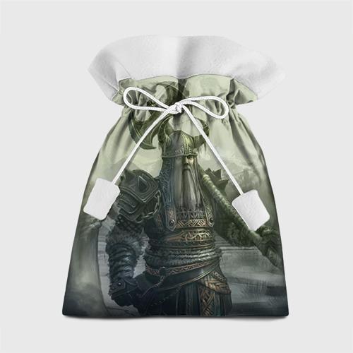 Подарочный 3D мешок Варвар с лабрисом