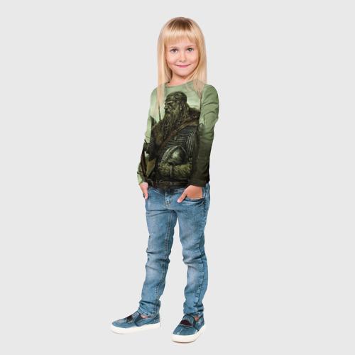 Детский лонгслив 3D  Фото 04, Ватага