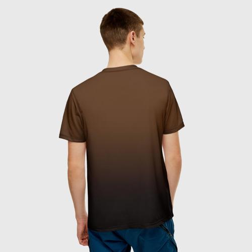 Мужская футболка 3D  Фото 02, Богатырь с копьем