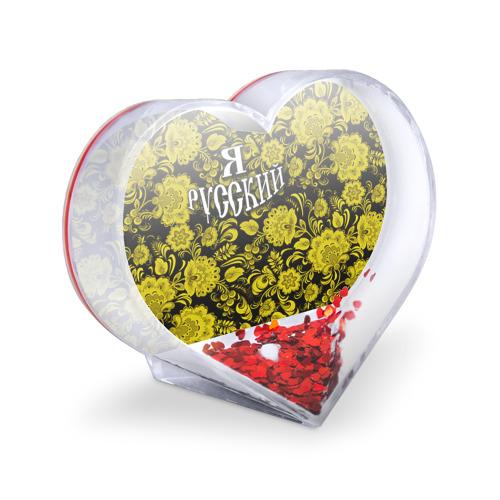 Сувенир Сердце  Фото 03, Я русский