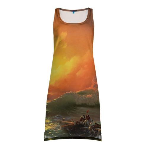 Платье-майка 3D Айвазовский - 9 Вал