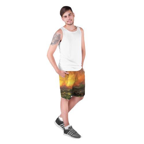 Мужские шорты 3D  Фото 03, Айвазовский - 9 Вал