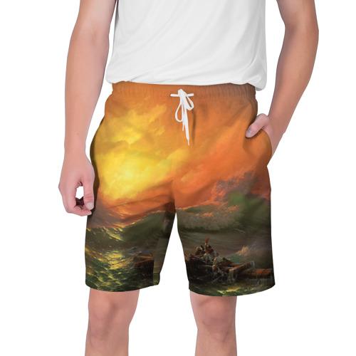 Мужские шорты 3D Айвазовский - 9 Вал