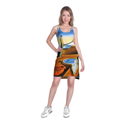 Платье-майка 3D  Фото 03, Сальвадор Дали - Постоянство Памяти