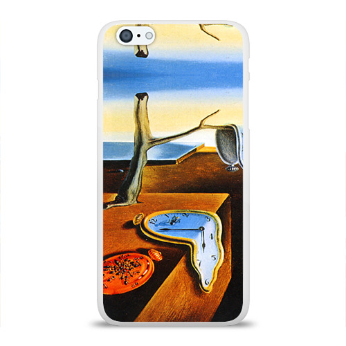 Чехол для Apple iPhone 6Plus/6SPlus силиконовый глянцевый  Фото 01, Сальвадор Дали - Постоянство Памяти