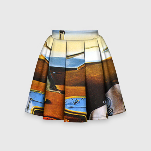 Детская юбка-солнце 3D Сальвадор Дали - Постоянство Памяти