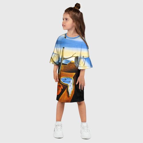 Детское платье 3D  Фото 03, Сальвадор Дали - Постоянство Памяти