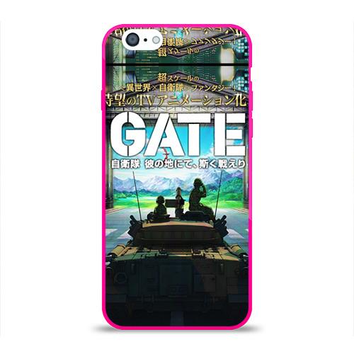 Чехол для Apple iPhone 6 силиконовый глянцевый  Фото 01, GATE