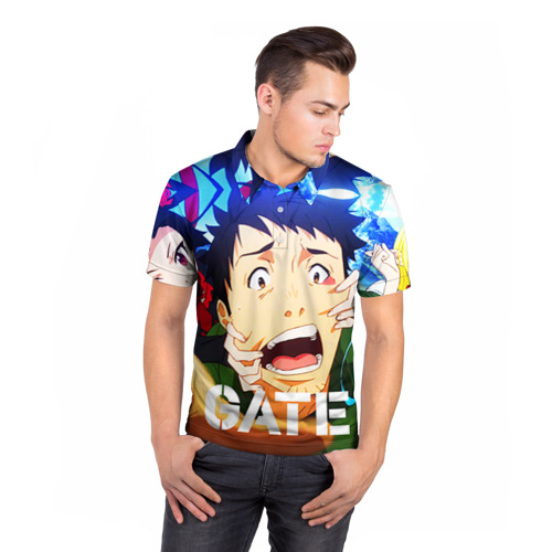 Мужская рубашка поло 3D  Фото 05, GATE