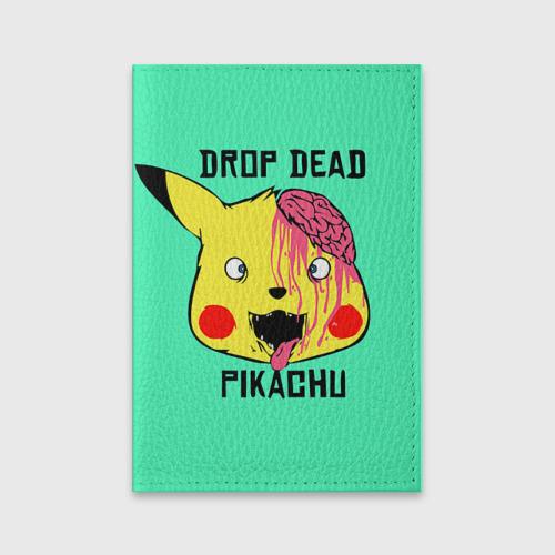 Обложка для паспорта матовая кожа  Фото 01, Drop Dead