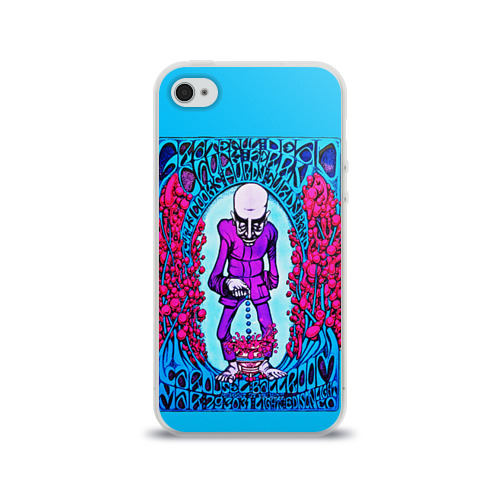 Чехол для Apple iPhone 4/4S силиконовый глянцевый  Фото 01, Drop Dead
