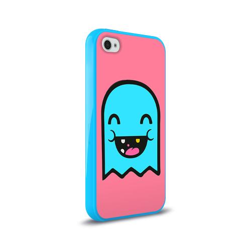 Чехол для Apple iPhone 4/4S силиконовый глянцевый  Фото 02, Drop Dead