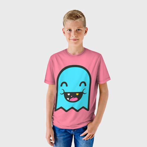 Детская футболка 3D  Фото 01, Drop Dead