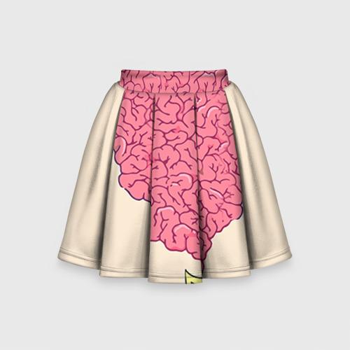 Детская юбка-солнце 3D Drop Dead