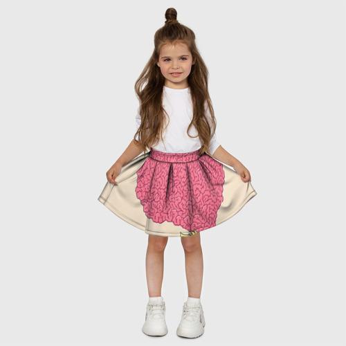 Детская юбка-солнце 3D  Фото 03, Drop Dead