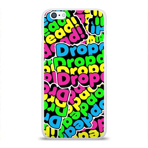 Чехол для Apple iPhone 6Plus/6SPlus силиконовый глянцевый  Фото 01, Drop Dead
