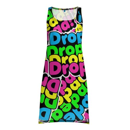 Платье-майка 3D Drop Dead