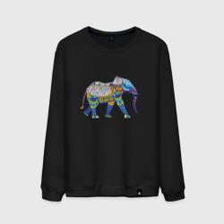 Слон. Мозаика. Индия