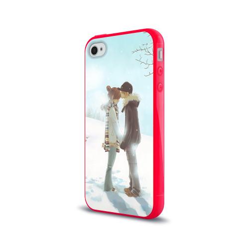 Чехол для Apple iPhone 4/4S силиконовый глянцевый  Фото 03, Bokura ga ita
