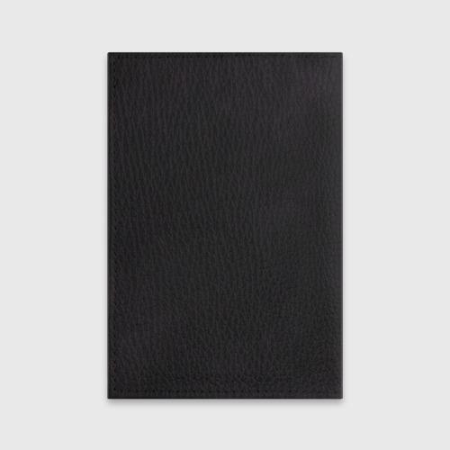 Обложка для паспорта матовая кожа Ночной охотник Фото 01