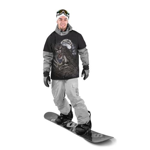 Накидка на куртку 3D Ночной охотник Фото 01