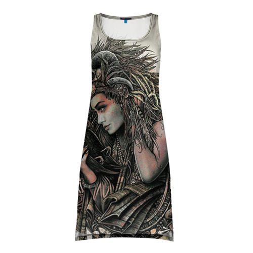 Платье-майка 3D Немезида