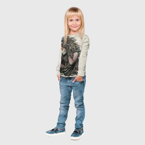 Детский лонгслив 3D  Фото 04, Немезида