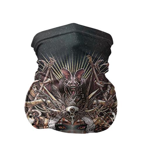 Бандана-труба 3D Королева мертвых