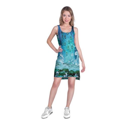 Платье-майка 3D  Фото 03, Навсикая из долины ветров