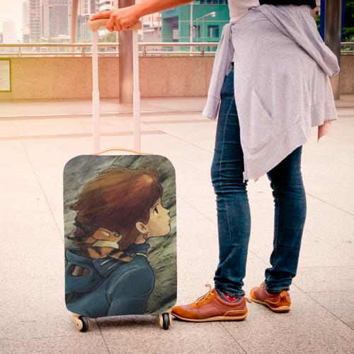 Чехол для чемодана 3D  Фото 04, Навсикая из долины ветров