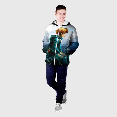 Мужская куртка 3D  Фото 03, Навсикая из долины ветров