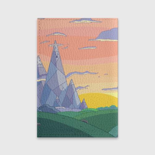 Обложка для паспорта матовая кожа  Фото 02, Adventure Time