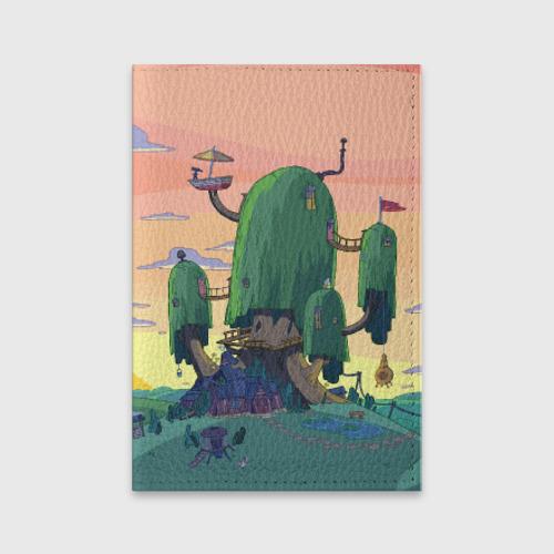 Обложка для паспорта матовая кожа  Фото 01, Adventure Time