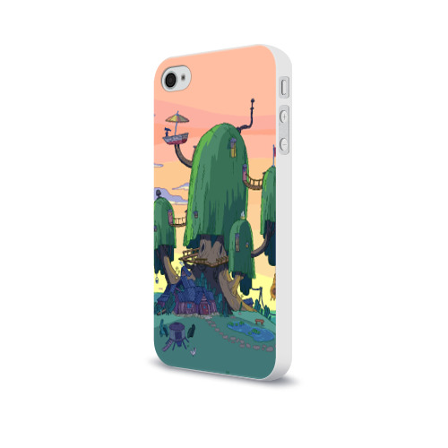 Чехол для Apple iPhone 4/4S soft-touch  Фото 03, Adventure Time