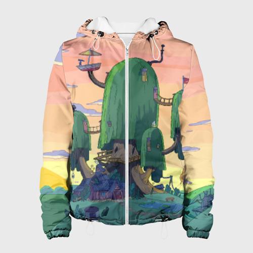 Женская куртка 3D  Фото 01, Adventure Time
