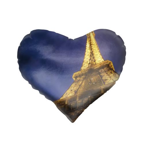 Подушка 3D сердце  Фото 01, Эйфелева башня
