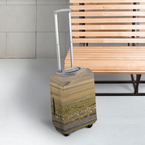 Чехол для чемодана 3D  Фото 03, Долина жизни