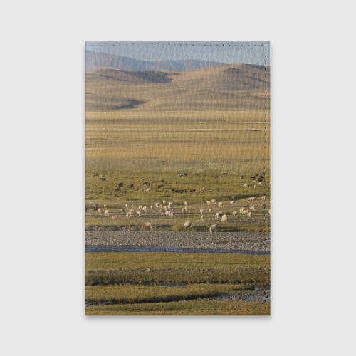 Обложка для паспорта матовая кожа  Фото 01, Долина жизни