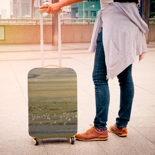 Чехол для чемодана 3D  Фото 04, Долина жизни