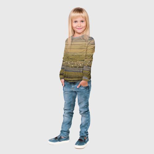 Детский лонгслив 3D  Фото 04, Долина жизни