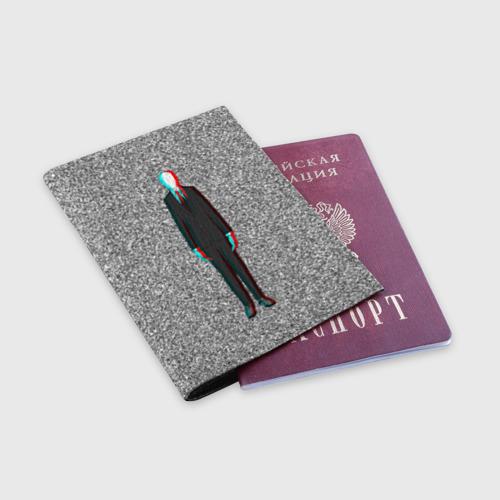 Обложка для паспорта матовая кожа  Фото 03, Слендер